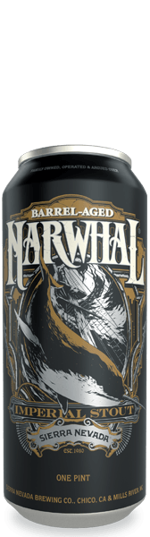 Barrel-aged Narwhal can
