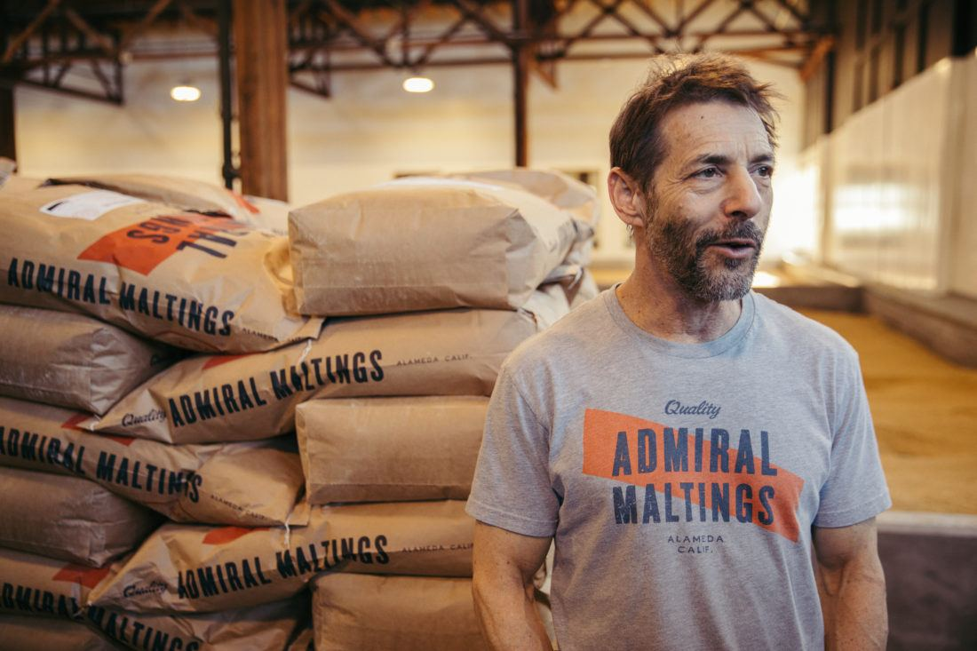 Ron Silberstein founding partner of Admiral Maltings in Alameda, Califor