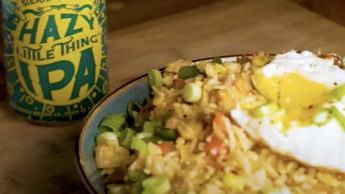 Hazy Little Thing Pineapple Fried Rice