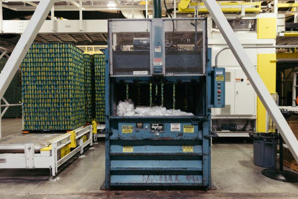 Brewery Recycling Coop - Shrink Wrap Baler